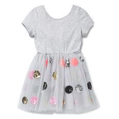 Spot Tulle Dress