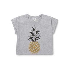 Pineapple Glitter Tee