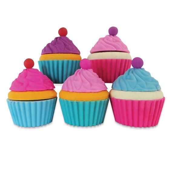 Cupcake Eraser Pack