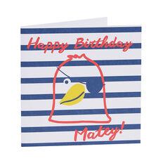 Happy Birthday Matey Card