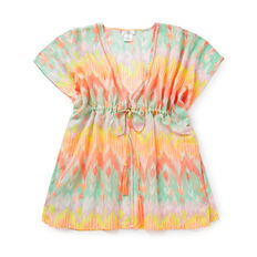Ikat Beach Cover Up