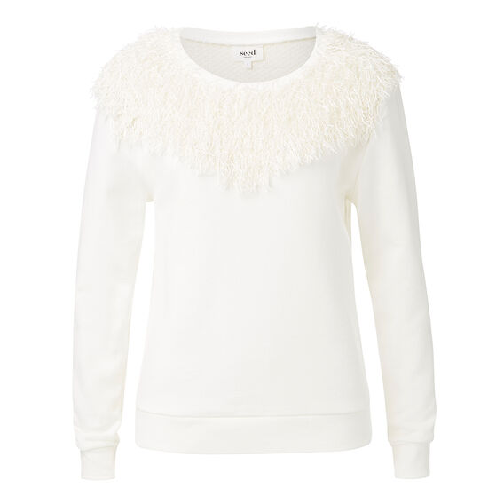Resort Tassel Knit Sweater