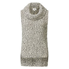 Speckle Roll Neck Knit
