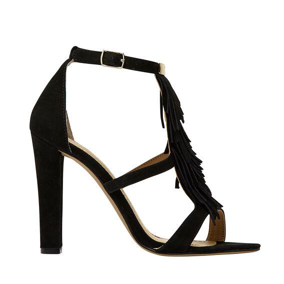 Sophia Fringe Detail Heel