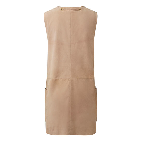 Collection Tie Suede Dress
