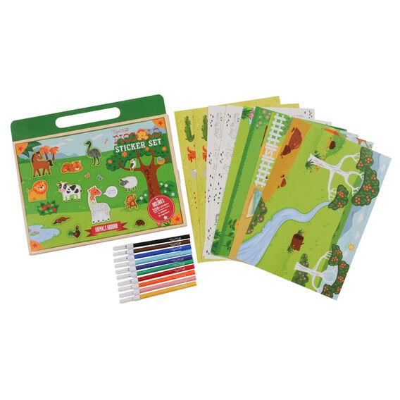Sticker World Activity Book