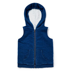 Zip Up Hooded Vest