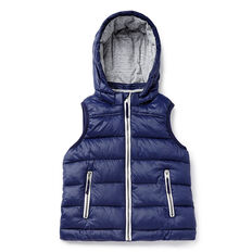 Hooded Puffa Vest