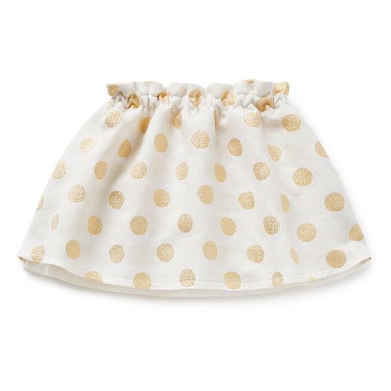 Foil Spot Skirt