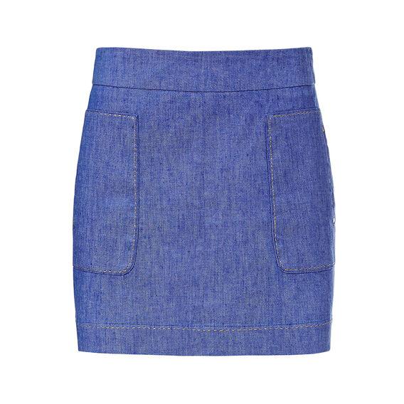 Gold Trim Skirt
