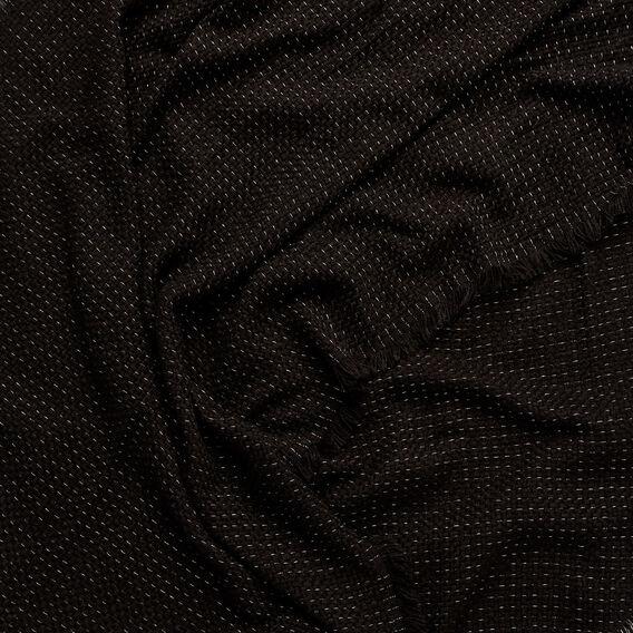 Metallic Thread Scarf