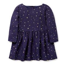 Glitter Star Woven Dress