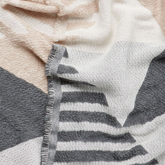 Stripe Jacquard Scarf