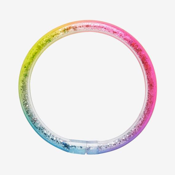 Rainbow Glitter Bangle