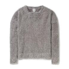 Furry Lurex Sweater