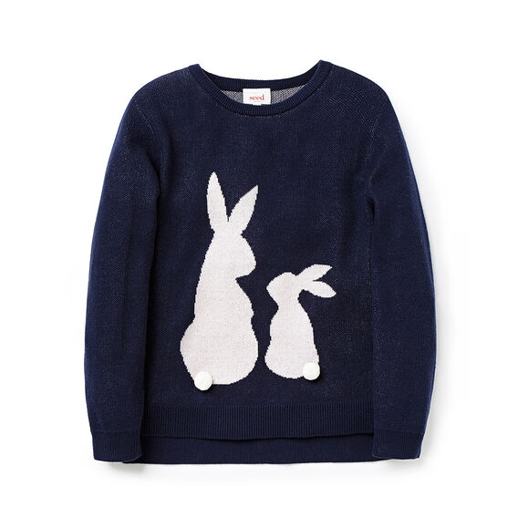 Two Bunnies Sweater