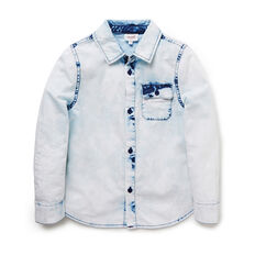 Acid Wash LS Shirt