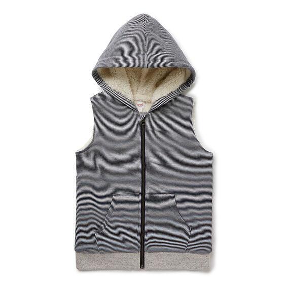 Zip Up Hooded Vest