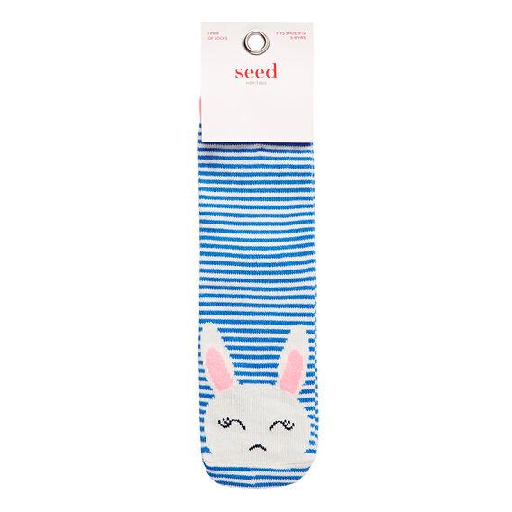 Peek-A-Boo Bunny Socks