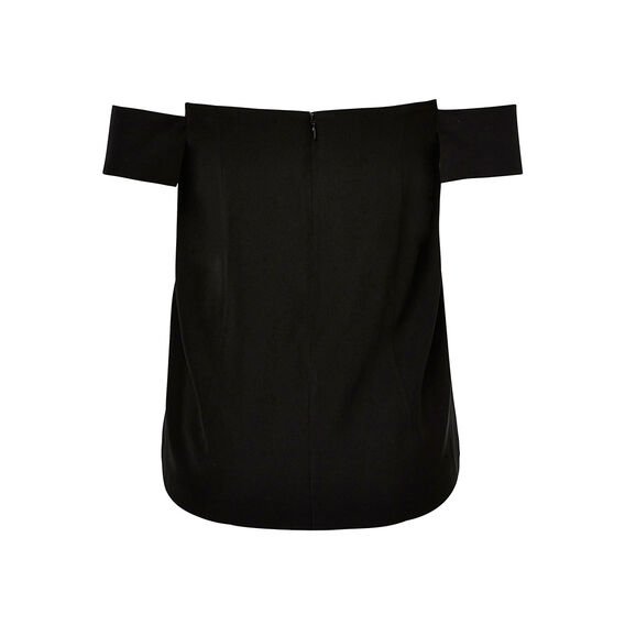 Collection Off The Shoulder Dipped Top