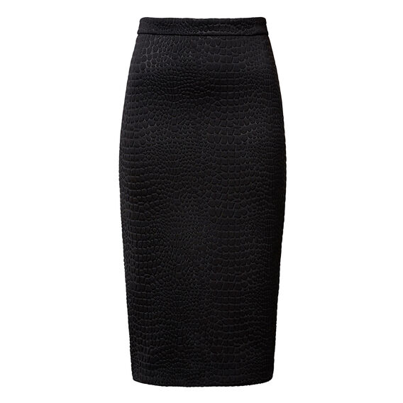 Collection Croc Midi Skirt