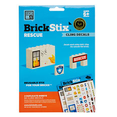 Rescue Reusable Stickers