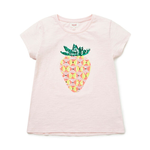 Sequin Stawberry Tee