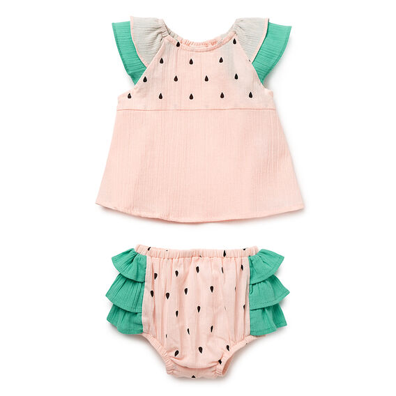 Watermelon Top &  Bloomers