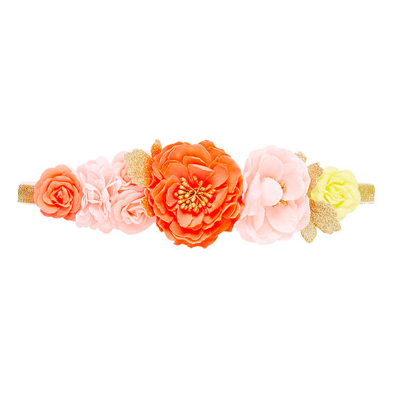 Flower Bouquet Elastic Headband