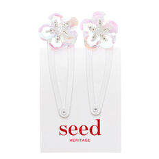 Mini Sequin Flower Snaps