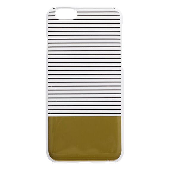Stripe and Gold Phone Case 6