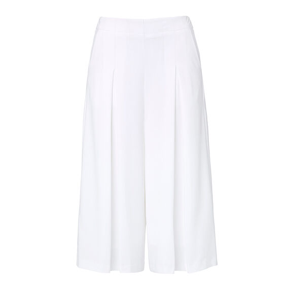 Collection Pleat Cropped Culotte