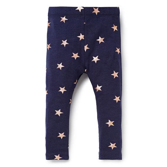 Foil Star Legging