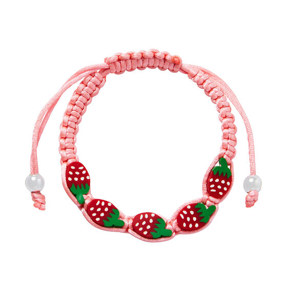 Strawberry Woven Bracelet