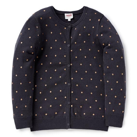 Glitter Spot Cardigan