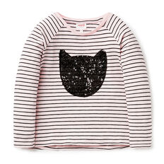 Sequin Cat Tee