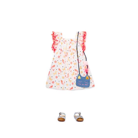 Frill Tassle Dress