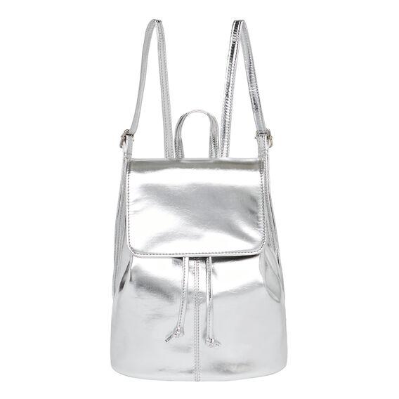 Mini Metallic Backpack