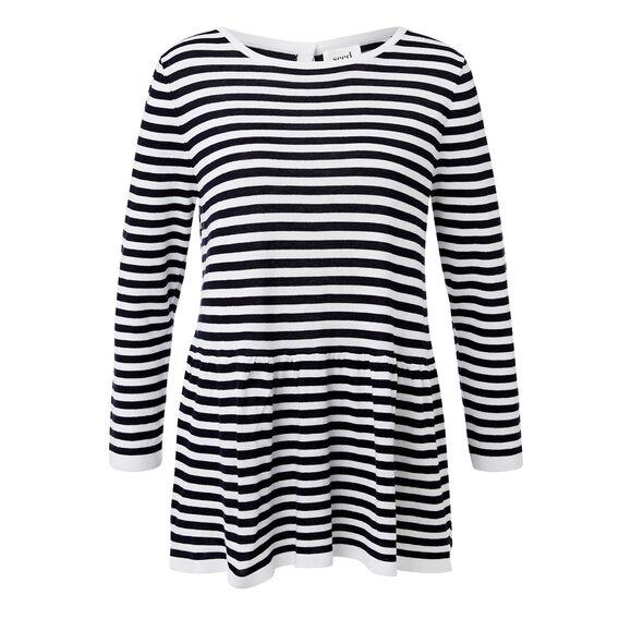Babydoll Stripe Knit