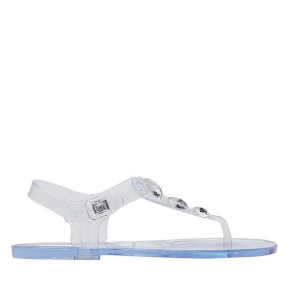 Diamante Jelly T-bar Sandal