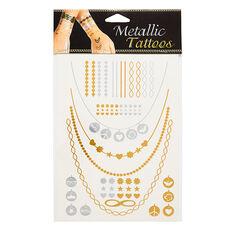 Metallic Wrist Tattoos