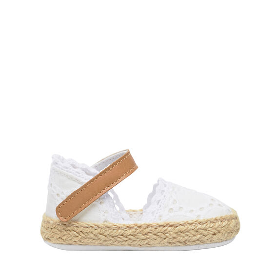 Broderie Mary Jane Espadrille