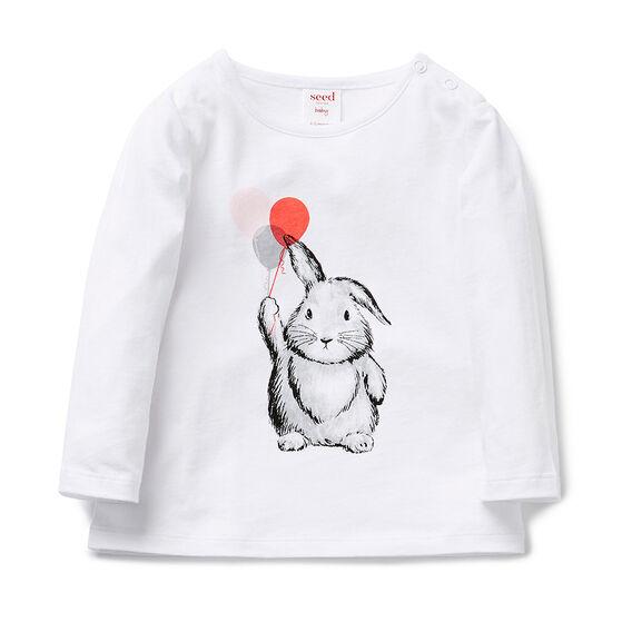 Balloon Bunny Tee