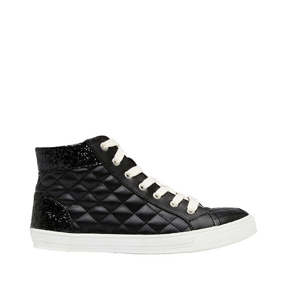 Glitter Quilted Hightop