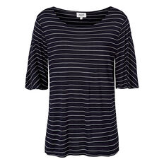 Pinstripe Fluted Tee