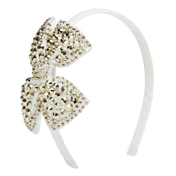 Jewelled Bow Headband