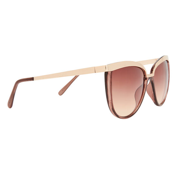 Naomi Metal Trim Sunglasses