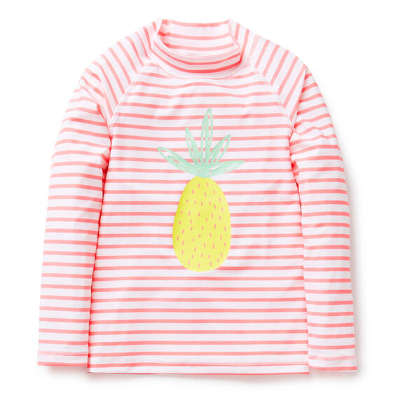 Pineapple Stripe Rashie