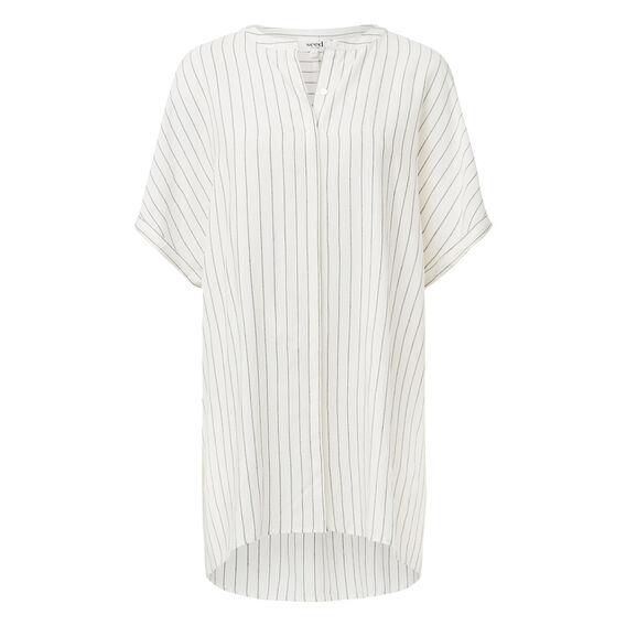 Stripe Longline Shirt