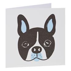 French Bull Dog Card